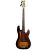 Sawtooth EP Series Electric Bass Guitar, Vintage Burst w/ Tortoise Pickguard