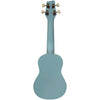 Sawtooth Basswood Soprano Ukulele, Daphne Blue, w/ ChromaCast Accessories