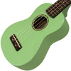 Sawtooth Basswood Soprano Ukulele, Surf Green, w/ ChromaCast Accessories