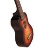 Sawtooth Basswood Soprano Ukulele, Sunburst, w/ ChromaCast Accessories