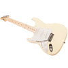 Sawtooth ES Series Left-Handed Electric Guitar Citron Vanilla Cream with Pearl Pickguard