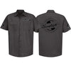 Sawtooth Short Sleeved Work Shirt with Logo, Large
