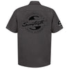 Sawtooth Short Sleeved Work Shirt with Logo, XXXL