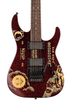 ESP Guitars LTD Kirk Hammett Limited Edition Ouija Red Sparkle Electric Guitar with Hard Case & Signed COA