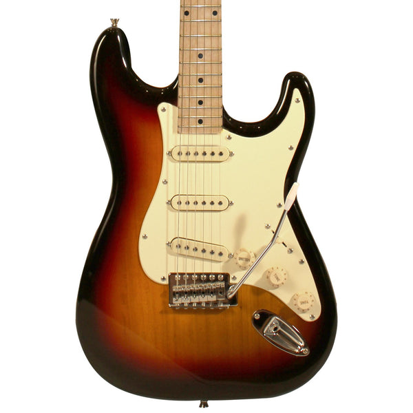 Sawtooth Classic ES 60 Series Alder Body Electric Guitar - Sunburst with Aged White 3-Ply Pickguard