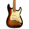 Sawtooth Sunburst ES Series Electric Guitar w/ Vintage White Pickguard - Includes: Accessories, Gig Bag & Lesson