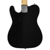 Sawtooth Classic ET 50 Ash Body Electric Guitar, Black w/ Black Pickguard