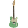 Sawtooth Classic ET 50 Ash Body Electric Guitar, Surf Green w/ Aged White Pickguard