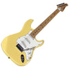 Sawtooth ES Series Electric Guitar, Citron Vanilla Cream with White Pickguard