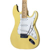 Sawtooth Citron Vanilla Cream ES Series Electric Guitar w/ White Pickguard - Includes: Accessories, Amp, Gig Bag & Online Lesson