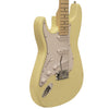 Sawtooth ES Series Left-Handed Electric Guitar, Vintage Cream with White Pickguard