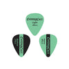 ChromaCast Surf Green Vintage Guitar Picks 12-Piece - Light (0.60), Medium (0.73mm), Heavy (0.88mm)