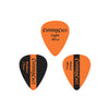 ChromaCast Sunset Orange Vintage Guitar Picks 12-Piece - Light (0.60), Medium (0.73mm), Heavy (0.88mm)