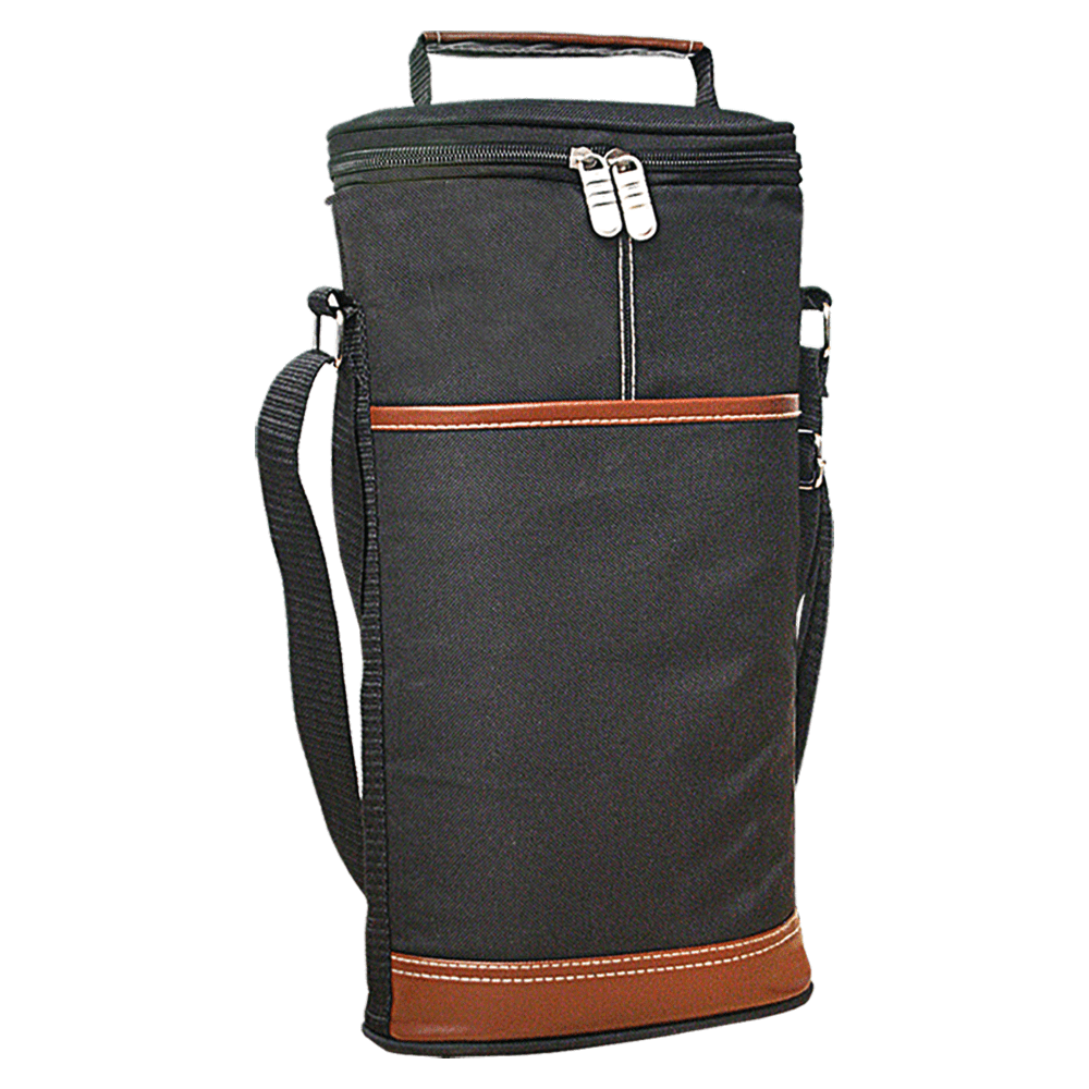 ChromaCast Wine Travel Carrier & Cooler Bag - Chills 2 bottles of wine or champagne.