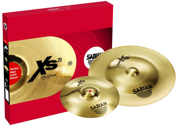 SABIAN XS5005EB Xs20 Effects Pack Brilliant Finish