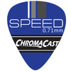 ChromaCast Speed Series Celluloid Guitar Picks, Assorted Sizes & Colors, 40 Pack