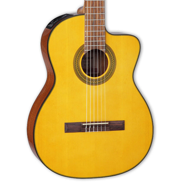 Takamine Classical Acoustic-Electric Guitar, Natural