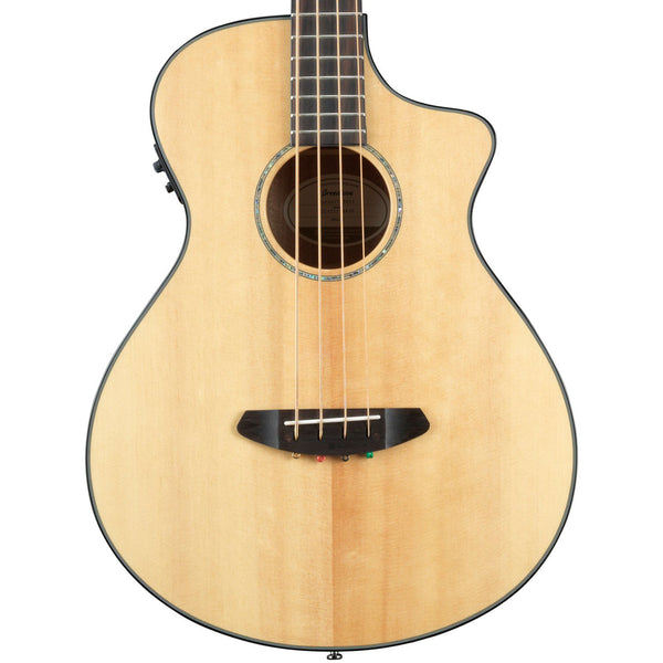 Breedlove Pursuit Concert Acoustic-Electric Bass CE Guitar, Natural