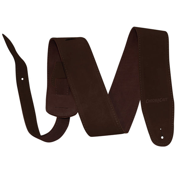 ChromaCast Chocolate Suede Guitar Strap