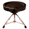 ChromaCast Pro Series Drum Throne with Motorcycle Seat Top