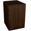 Sawtooth Ebony Cajon with Cajon Bag & Direct Drive Cajon Pedal, Standard Size
