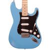 Sawtooth Classic ES 60 Series Alder Body Electric Guitar - Classic Aero Blue with Black 3-Ply Pickguard, ChromaCast Hard Case & Accessories