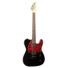 Sawtooth Americana Modern Series Electric Guitar w/ Red Pickguard & ChromaCast Hard Case