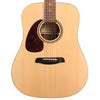 Sawtooth Left-Handed Acoustic Dreadnought Guitar with Tortoise Pickguard & ChromaCast Accessories, Natural