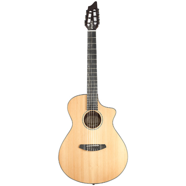 Breedlove Solo Concert Nylon CE Red Cedar-Ovangkol Rosewood Acoustic-Electric Guitar with Deluxe Gig Bag