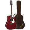 Takamine John Jorgenson Signature 12-String Acoustic-Electric Guitar with Hard Case and Accessories