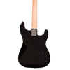Rise by Sawtooth Left Handed Full Size Beginner Electric Guitar Kit, Black