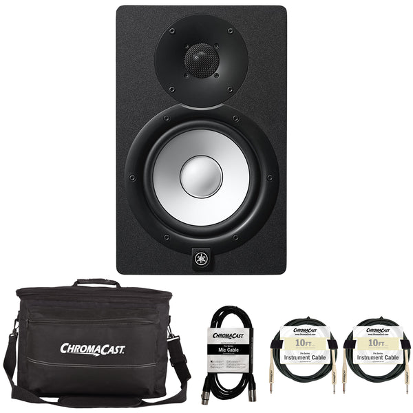 Yamaha HS7 Powered Studio Monitor with Accessories