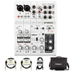Yamaha AG06 6-Channel Mixer/Interface with Accessories