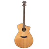 Breedlove Pursuit Concerto CE Red Cedar-Mahogany Acoustic-Electric Guitar with ChromaCast 12 Pick Sampler and Polish Cloth