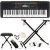 Yamaha PSRE253 61-Key Portable Keyboard with Accessories