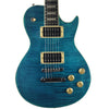 Sawtooth Heritage 60 Series Flame Maple Top Electric Guitar, Cali Blue Flame