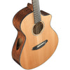 Breedlove Solo Concert CE Red Cedar - Ovangkol Acoustic-Electric Guitar with ChromaCast Accessories