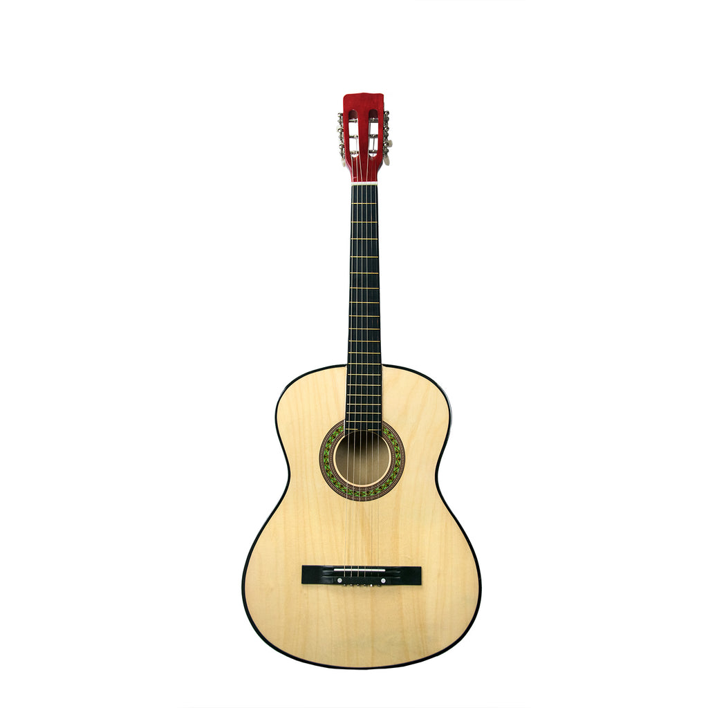 Rise by Sawtooth Petite Size Steel String Beginner's Acoustic Guitar,  Natural