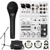 Yamaha AG06 6-Channel Mixer/Interface with Microphone & Accessories