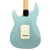 Sawtooth ES Series Beginner's Electric Guitar with Guitar Bag, Amp, and Accessories, Daphne Blue with Pearloid White Pickguard