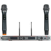 Chromacast Pro Series UHF Dual Channel Wireless Microphone System with 2 Wireless Microphones