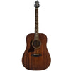 Sawtooth Mahogany Series Left-Handed Solid Mahogany Top Acoustic-Electric Dreadnought Guitar with Padded Gig Bag and Pick Sampler