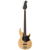 Yamaha BB234 BB-Series 4-String Bass Guitar with Hard Case & Accessories, Yellow Natural Satin