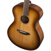 Breedlove Discovery Concerto Sitka-Mahogany Acoustic Guitar with ChromaCast 12 Pick Sampler and Polish Cloth, Sunburst