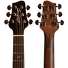 Sawtooth Mahogany Series Left-Handed Solid Mahogany Top Acoustic-Electric Mini Jumbo Guitar with Padded Gig Bag and Pick Sampler