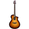 Breedlove Discovery Concert CE Sitka-Mahogany Acoustic-Electric Guitar with ChromaCast Accessories, Sunburst
