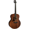 Sawtooth Mahogany Series Left-Handed Solid Mahogany Top Acoustic-Electric Jumbo Guitar