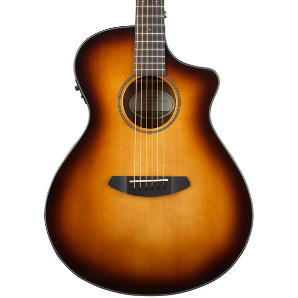 Breedlove Discovery Concert CE Sitka-Mahogany Acoustic-Electric Guitar, Sunburst