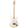 Sawtooth ES Series Beginner's Electric Guitar with Guitar Bag, Amp, and Accessories, Vanilla Cream with Pearloid White Pickguard