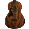 Sawtooth Mahogany Series Left-Handed Solid Mahogany Top Acoustic-Electric Parlor Guitar with Hard Case and Pick Sampler